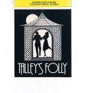 Playbill -Talley's Folly March 1982 -Players State Theatre-Coconut Grove Florida