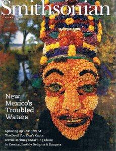 SMITHSONIAN Magazine February 2002-New Mexico-Boss Tweed-Corsica-David Hockney +