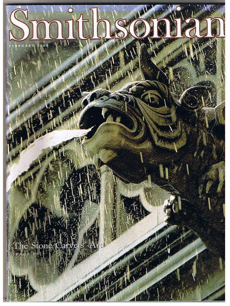 SMITHSONIAN Magazine February 2000-Topkapi Palace-Blackbeard's Ship-Robots-Idaho