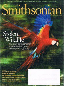 SMITHSONIAN Magazine December 2009-Stolen Wildlife-Norman Rockwell's Photographs