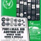 ALMANZAR'S 1983 World Coins-Medals Auction catalog -Castillo Collection-Hispanic
