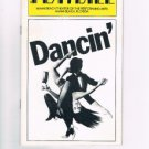 Playbill - DANCIN' - Miami Beach Theater Of The Performing Arts - April 23, 1980