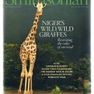 Smithsonian Magazine November 2008-Niger's Giraffes-Korean War-Munich-Lincoln +