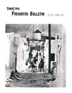 TRAVLTIPS Freighter Bulletin magazine- booklet March 1974 -Travel -O Esmeralda +