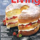 Martha Stewart Living Magazine June 2012 -Summer Food Issue -Grilling -Berries +