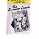 Playbill -The Summer People -1982 -Players State Theatre -Coconut Grove -Florida