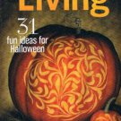 MARTHA STEWART LIVING Magazine October 2013- 31 Halloween Ideas-jack-o'-lanterns