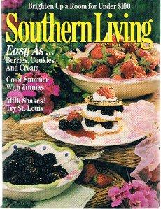 SOUTHERN LIVING MAGAZINE May 1994-Berries-Zinnias Milk Shakes-Brighten Up Room +
