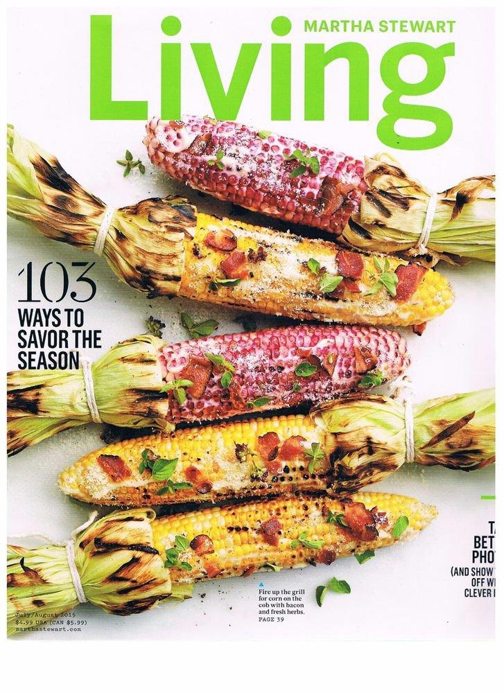 Martha Stewart Living magazine July 2015-103 Ways To Savor Season-Photo Crafts +