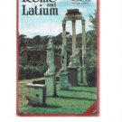Vintage ROME and LATIUM fold-out map brochure- Italy- 1985