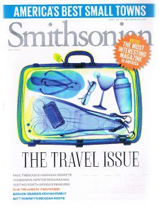 SMITHSONIAN Magazine May 2012 - The Travel Issue-Best Small Towns-Paul Theroux +
