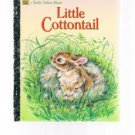 Vintage Golden Press LITTLE COTTONTAIL by Carl Memling - 1988 - # 98775