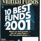 MUTUAL FUNDS Magazine December 2000-Special 2001 Forecast- 10 Best Funds 2001