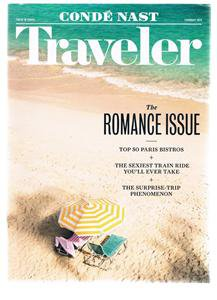 Conde Nast Traveler February 2015 -Romance Issue-50 Paris Bistros-David Hallberg