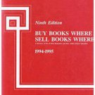 BUY BOOKS WHERE SELL BOOKS WHERE by Ruth Robinson 9th Edition