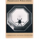 Catalog Of Historic Preservation Publications Booklet - Cultural Resources