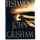 The Testament by John Grisham - First Edition -  HB-DJ - Legal Suspense Novel