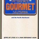 INTERSTATE GOURMET by David Schwartz & Neil Weiner-restaurants -First Edition FE