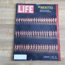 LIFE Magazine December 11 1964 -The Rockettes-Mexico Moves Ancient Rain God-Lido