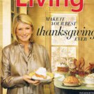 MARTHA STEWART LIVING November 2011-Thanksgiving-Dramatic Desserts-festive table