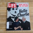 Life Magazine 21 April 1972-Charlie Chaplin-Giant Vietnam Battle-George McGovern