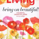 MARTHA STEWART LIVING May 2011-Colorful Creative Ideas-Silk Poppies-Floral Decor
