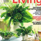 MARTHA STEWART LIVING Magazine August 2012-Ultimate Burgers-Outdoor Entertaining
