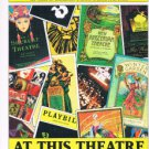 AT THIS THEATRE -Louis Botto-Playbill -100 Years Of Broadway Shows-Stories-Stars