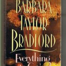 EVERYTHING TO GAIN - by Barbara Bradford - Book Club Edition  - BCE