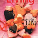 MARTHA STEWART LIVING Magazine February 2013 -Made With Love-Valentines -Flowers