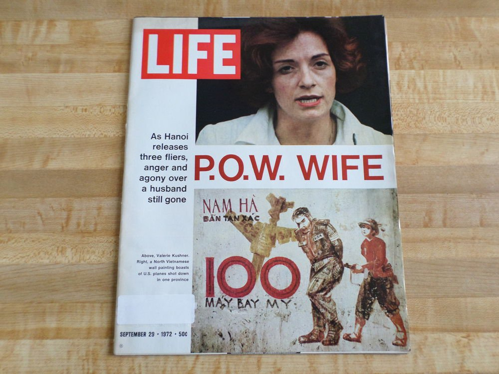Life Magazine 29 September 1972 POW Wife- Vietnam - Dominique Sands-Health Foods