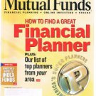 MUTUAL FUNDS Magazine October 2001-How To Find Great Financial Planner-Bond Fund