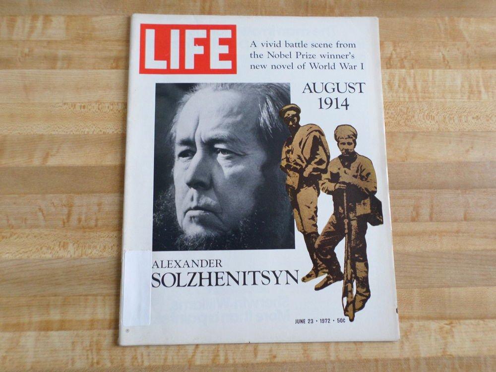 Life Magazine 23 June 1972 -Alexander Solzhenitsyn -Gypsy Moth-World Pollution +