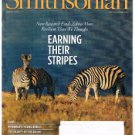 SMITHSONIAN Magazine March 2011-Zebras-Beauty Of Brain-Andrew Jackson & Cherokee
