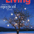 Martha Stewart Living Magazine December 2011 - Holiday Issue -Menu Planner