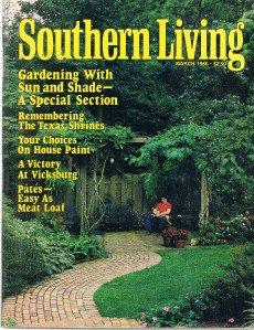 SOUTHERN LIVING March 1986-Gardening-Victory Vicksburg-Pates-Texas Shrines-Paint