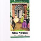Natchez On The Mississippi Pilgrimage 1980 booklet-Plantation Homes Tours-Elms +