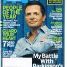 AARP Magazine January 2006-Michael J Fox-Older Americans Domestic Violence-Heart