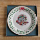 Lenox 1995 Annual Christmas Plate - Fifth in series - Toy Store - China