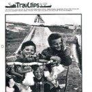 TRAVLTIPS Freighter Bulletin magazine-booklet-January 1976-Lykes Line-Moore-MC +