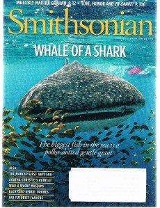 SMITHSONIAN Magazine June 2011-Martha Graham-Agatha Christie Retreat-Whale Shark