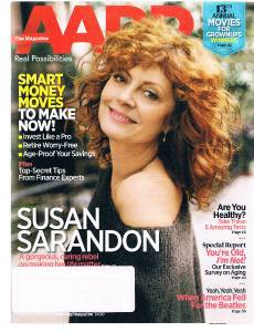 AARP Magazine February 2014- Susan Sarandon-Smart Money Moves-Invest Pro-Beatles