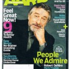 AARP Magazine January 2007-Robert DeNiro-Marlo Thomas-David Hyde Pierce -Newhart