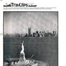 TRAVLTIPS Freighter Bulletin magazine -booklet -March 1976 -Lykes Lines -Farrell
