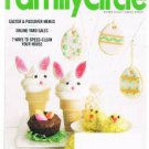 FAMILY CIRCLE Magazine April 2014-Easter-Passover Menus-Speed Clean-Online Sales