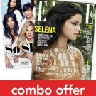 Cosmopolitan/Elle Combo Magazine Subscription 1 Year 24 Issues