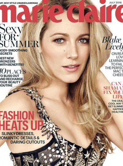 Marie Claire Magazine Subscription 1 Year 12 Issues