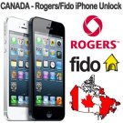 Official Unlock Canada Rogers Fido iPhone 4 4S 5 5s 5c 6 6+ Blocked Blacklisted