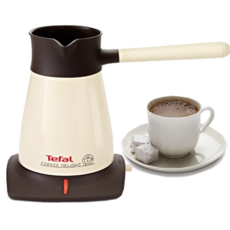 Coffee Maker Without Pot : Tefal Coffee Delight Greek Turkish Coffee Maker Machine Electric Pot Briki Beige