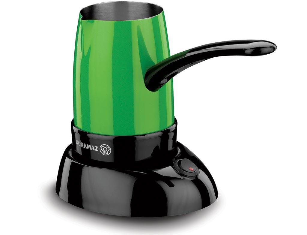 Korkmaz A365 Smart Greek Turkish Coffee Maker Electric Coffee Pot Briki Green